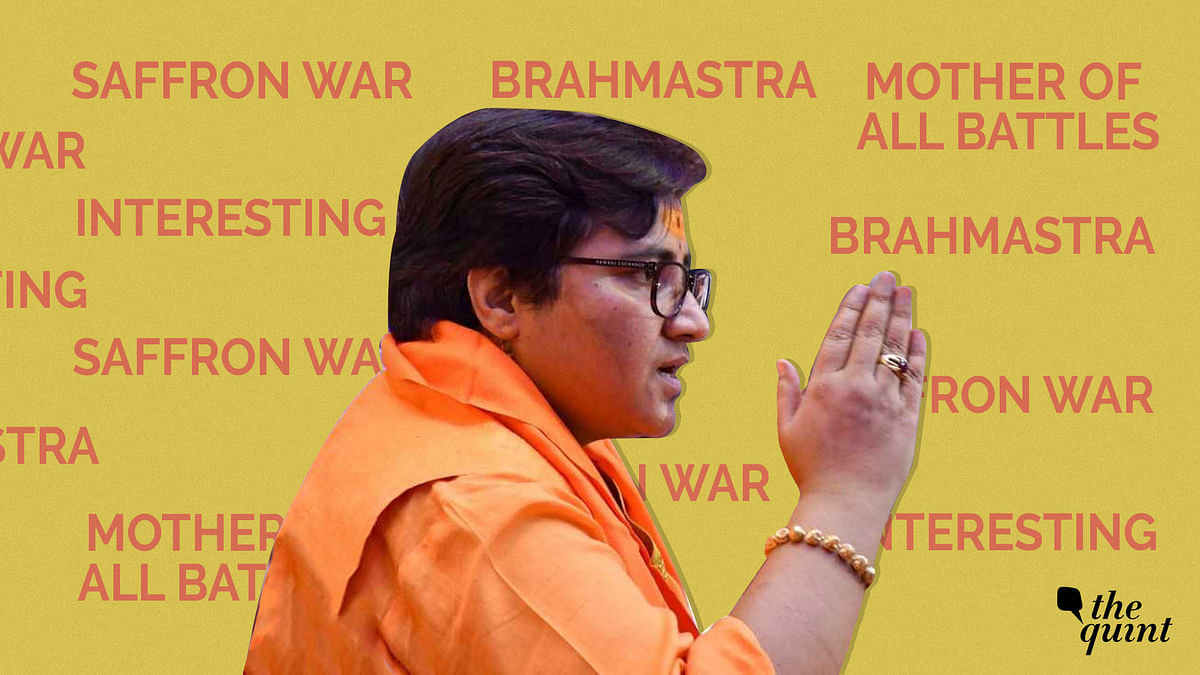 Pragya Thakur's BJP Ticket Isn't 'Interesting' – It's Disturbing