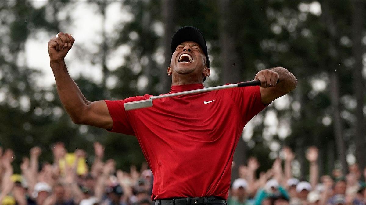 Tiger Woods won Augusta Master last year.