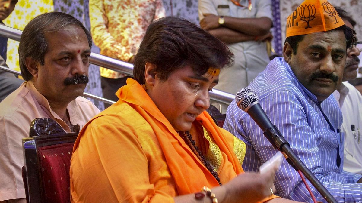 Amid Godse Row, Pragya Thakur Takes Vow of Silence Till LS Results