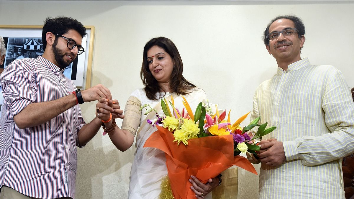 The Shiv Sena on Thursday, 12 March, nominated its deputy leader Priyanka Chaturvedi as the party's candidate for the upcoming Rajya Sabha polls.