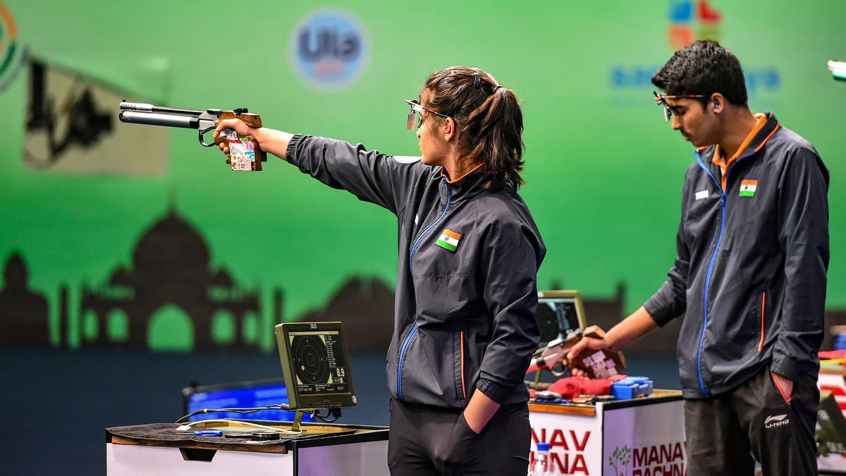 Medal Favourites Manu & Saurabh Knocked Out in Qualifier of Mixed Team Event