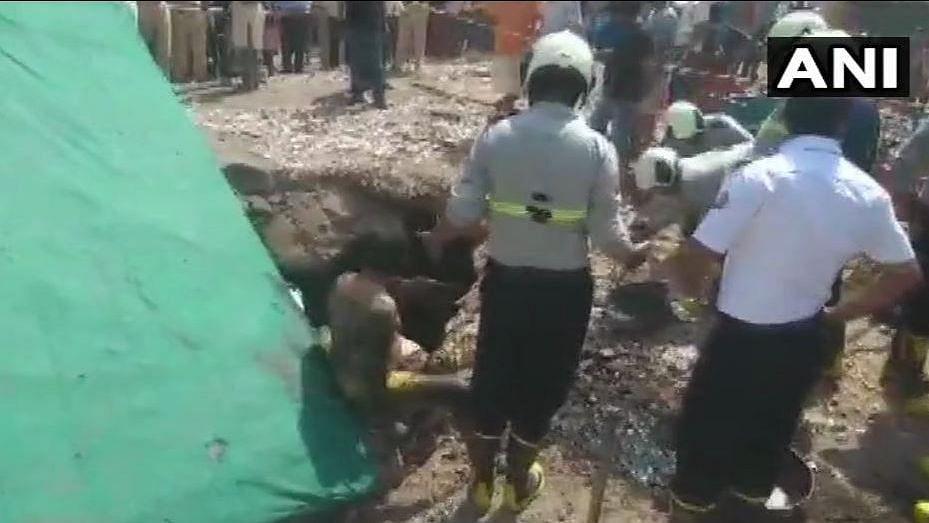 3 Fall Into Septic Tank in Mumbai, Rescue Operation Underway