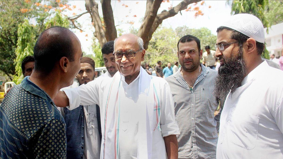No Need For Surgical Strikes Had Pragya Cursed Azhar: Digvijay