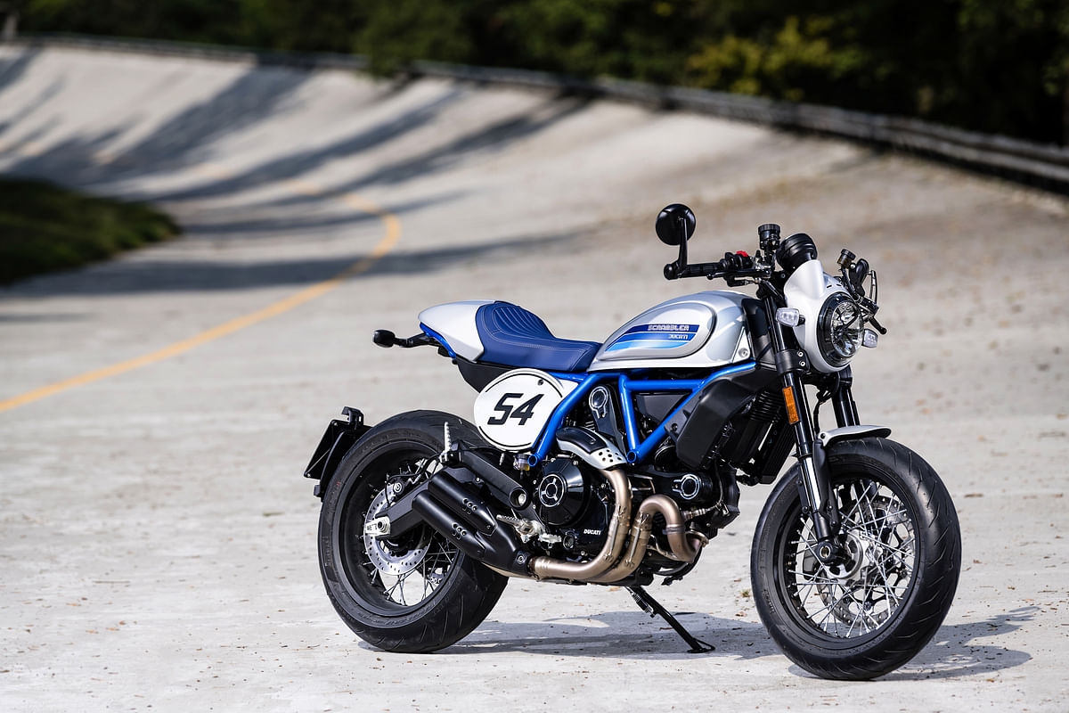 The Ducati Scrambler Cafe Racer is priced at Rs 9.78 lakh ex-showroom.