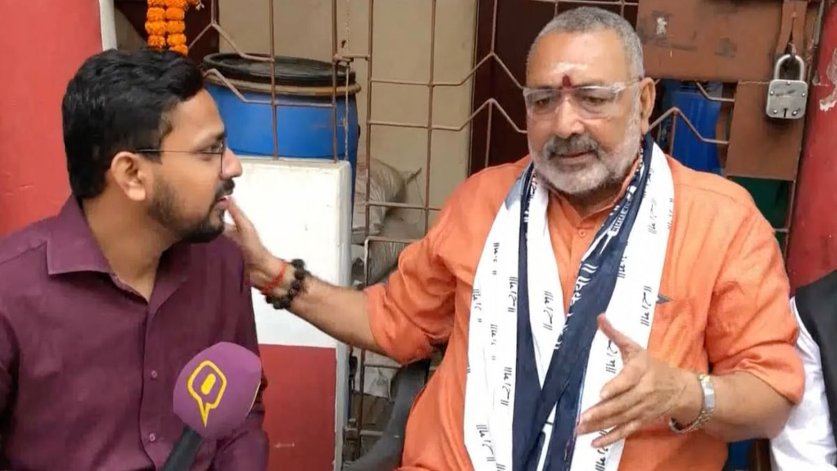 Why Did BJP MP Giriraj Singh Run Away From The Quint's Questions?