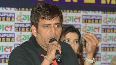 Ravi Kishan Promises Bhojpuri Film City in Gorakhpur if BJP Wins
