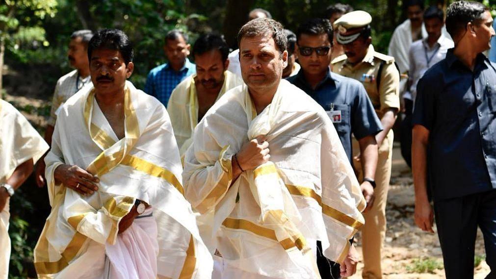 Rahul Gandhi offered prayers at Thirunelli Temple