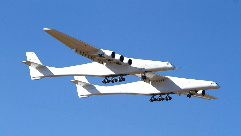 World's Largest Airplane Makes First Test Flight