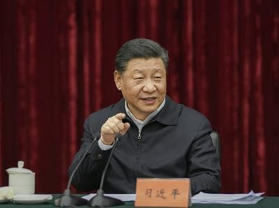 China's Xi defends Belt and Road project, India skips event