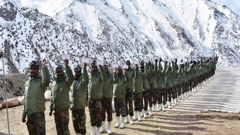 In a First, Soldiers in J&K's Siachen Cast Votes for LS Polls