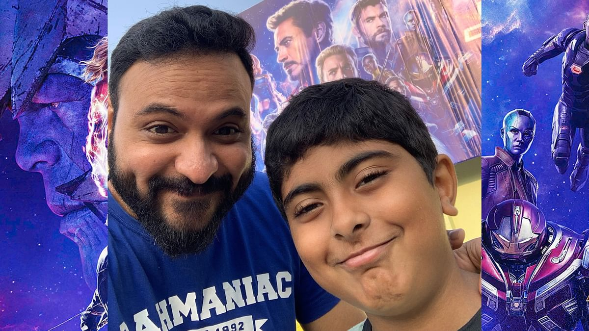 Anand Venkateshwaran and son went all out to experience <i>Avengers: Endgame</i>.