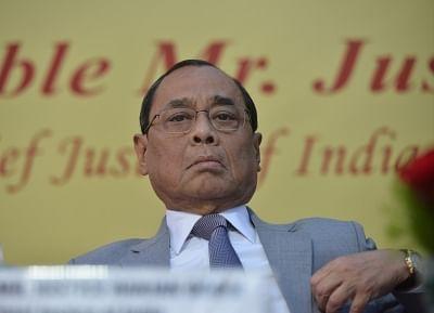 Independence of Judiciary under threat: CJI