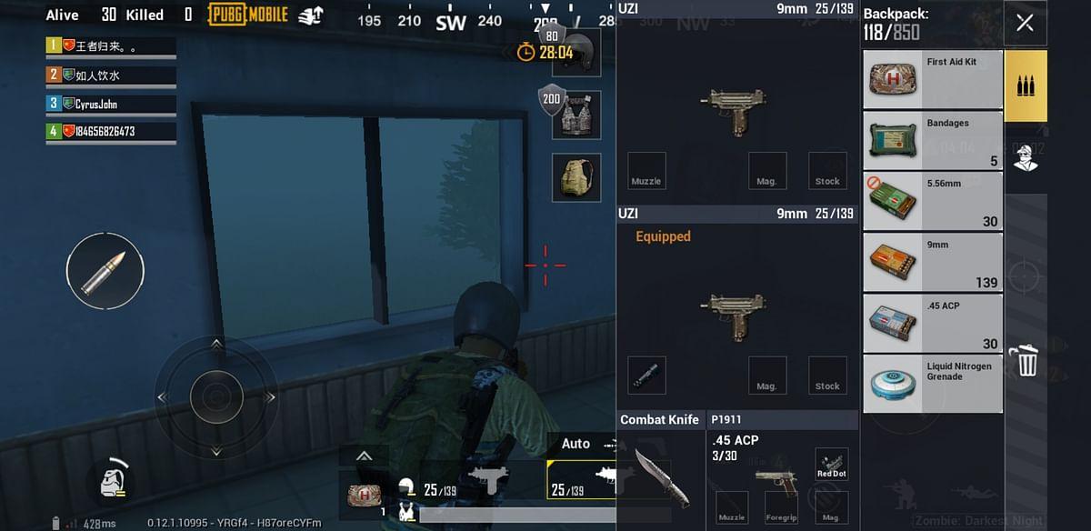 Liquid Nitrogen Grenade has been added to the PUBG arsenal.