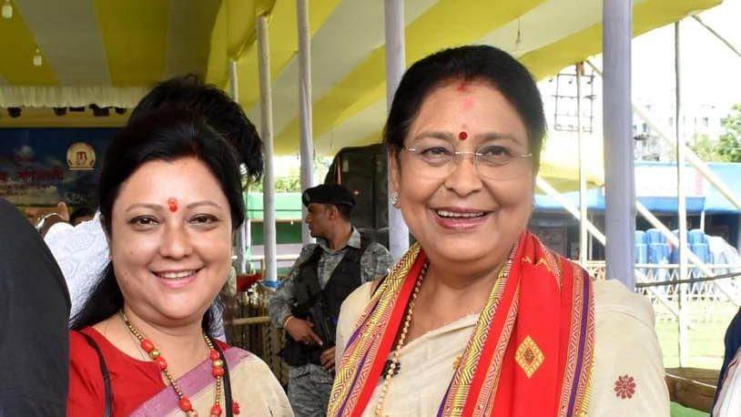 Queen Ojha (left) and Bobbeeta Sharma are facing off for the Guwahati seat.