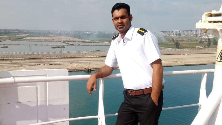 Charanya Venugopal on duty.