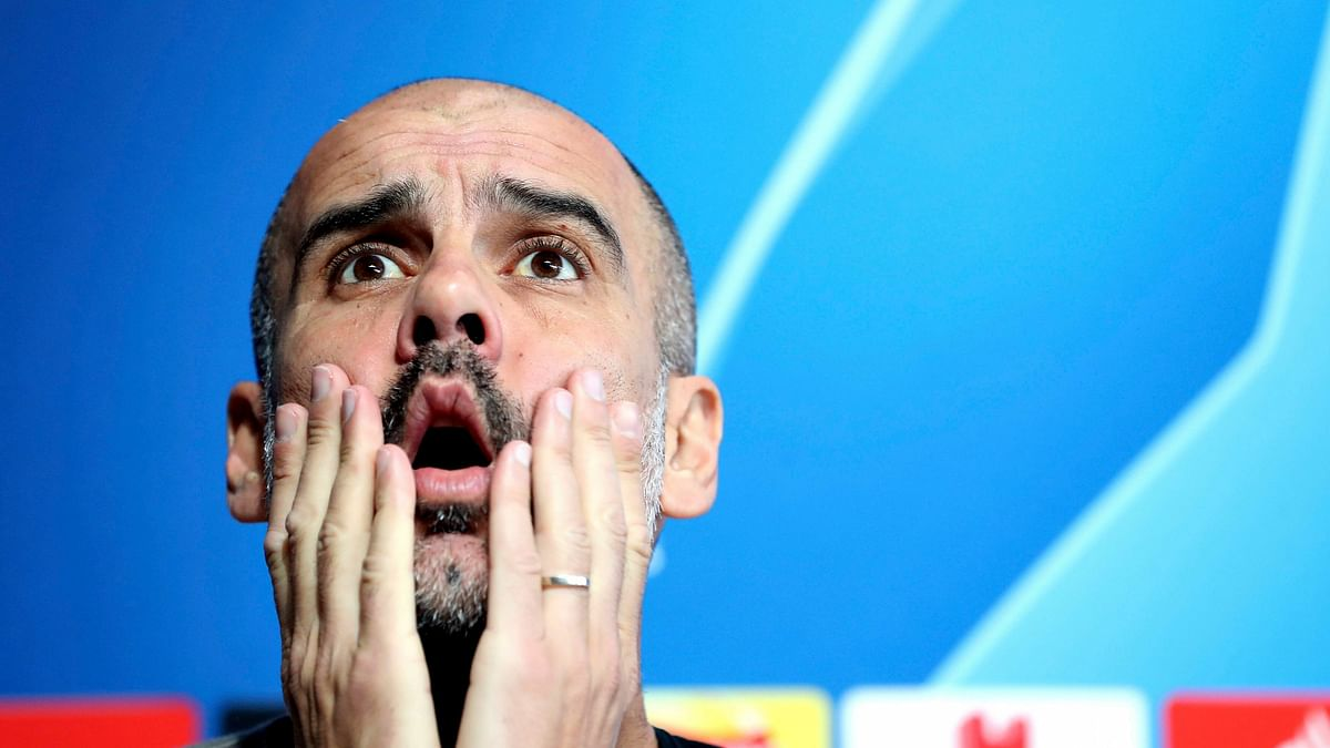 Pep Guardiola Says He's a 'Failure' in the Champions League