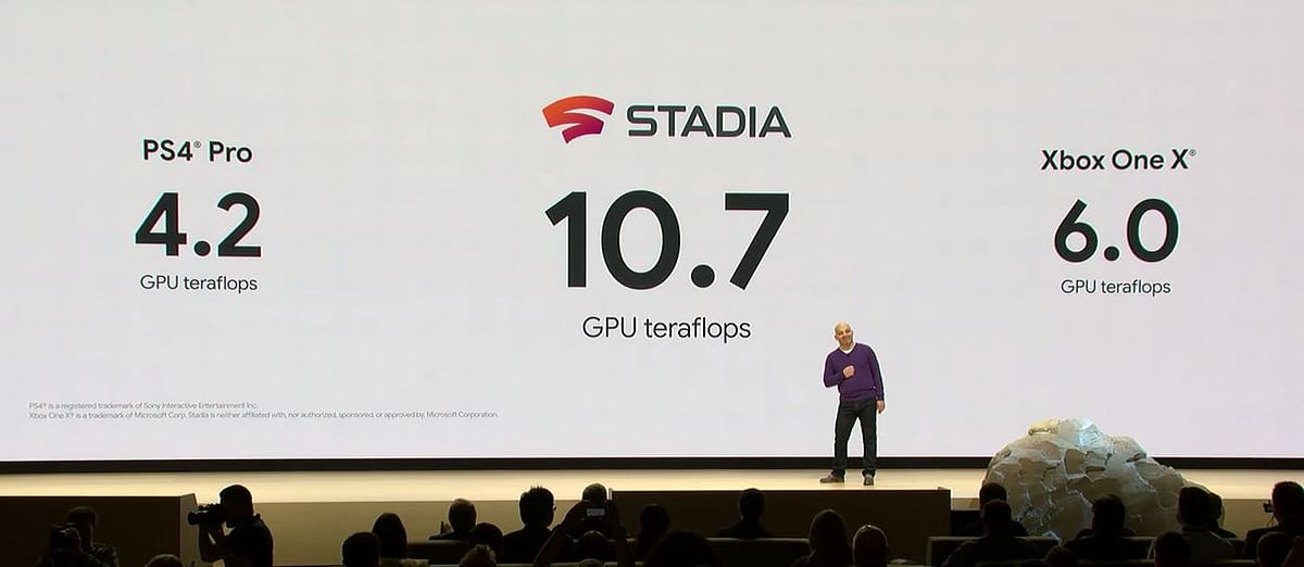 A comparison of the graphics was made at the Google Game Developers Conference, as seen here.