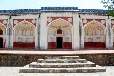 The exterior of the Mir Muzaffar Hussain