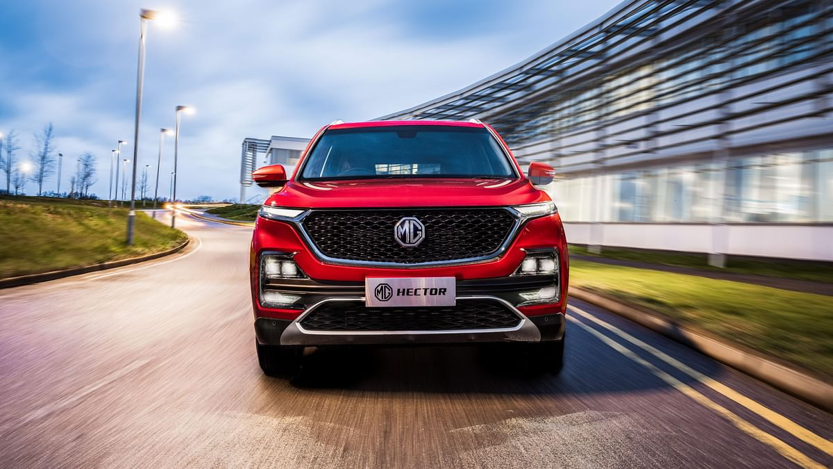 MG Hector competes with Kia Seltos.