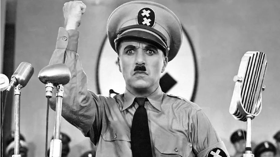 Charlie Chaplin's character Adenoid Hynkel was a not-so-subtle nod to Adolf Hitler.