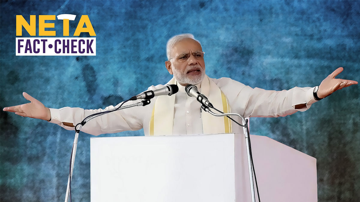 PM Claims Cong Promises Bail for Crimes Against Women. Is It True?