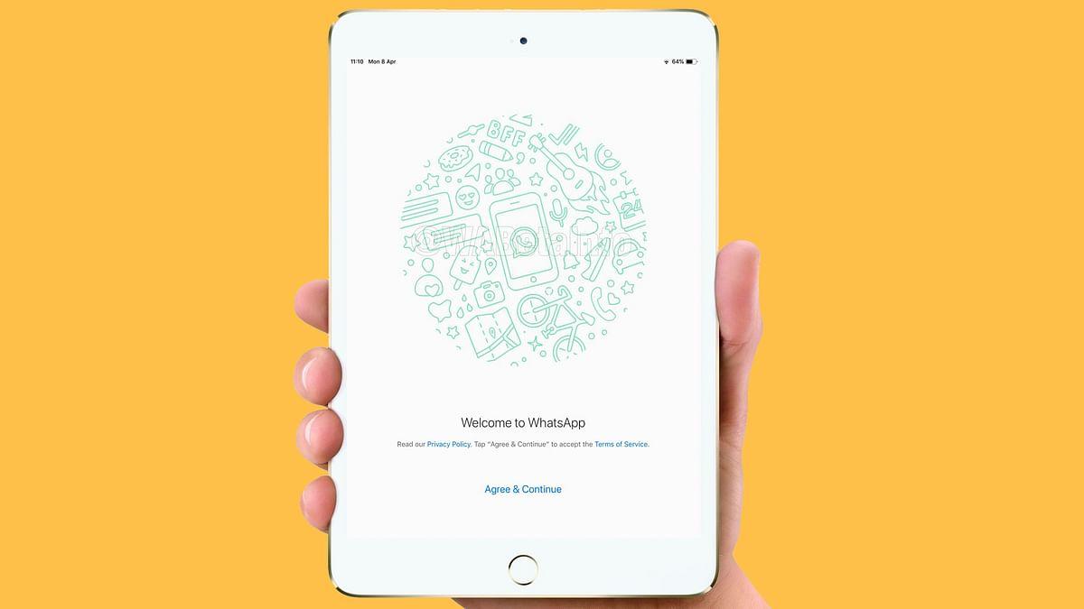 iPad users will finally get WhatsApp native app.