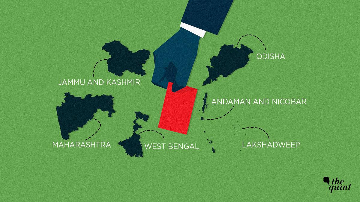 Lok Sabha Polls: 54.49% Turnout in J&K, 68% in Odisha, 56% in Maha