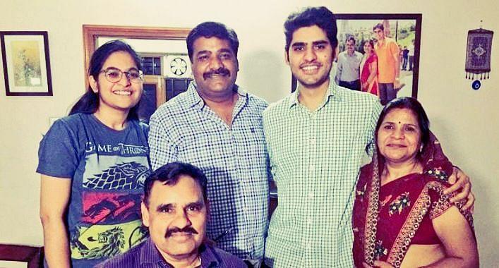 Kataria with family.