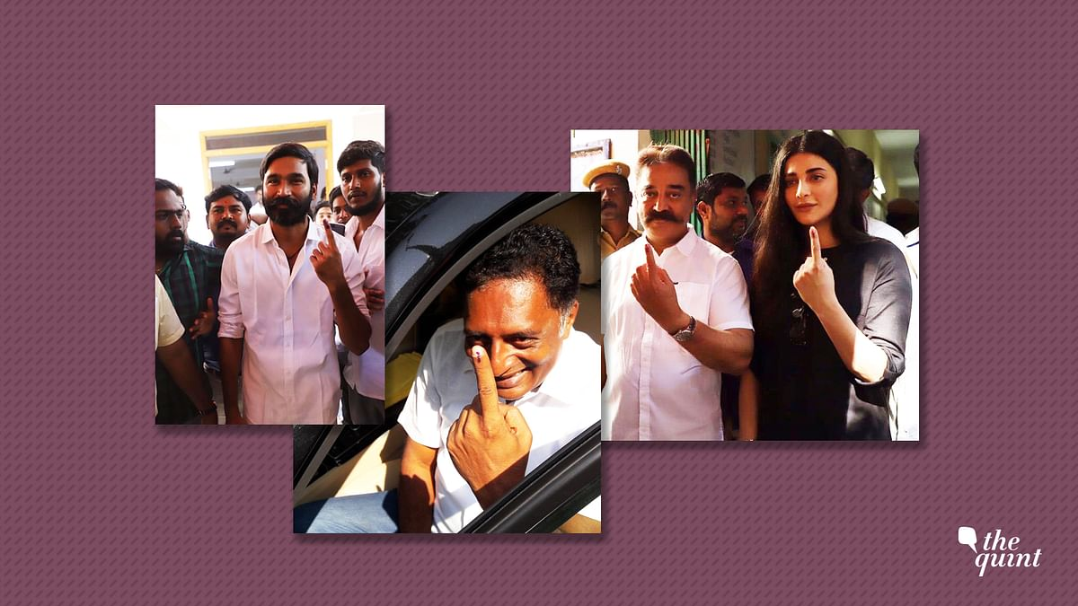 LS Polls: South Indian Celebs Come Out  to Cast Their Votes