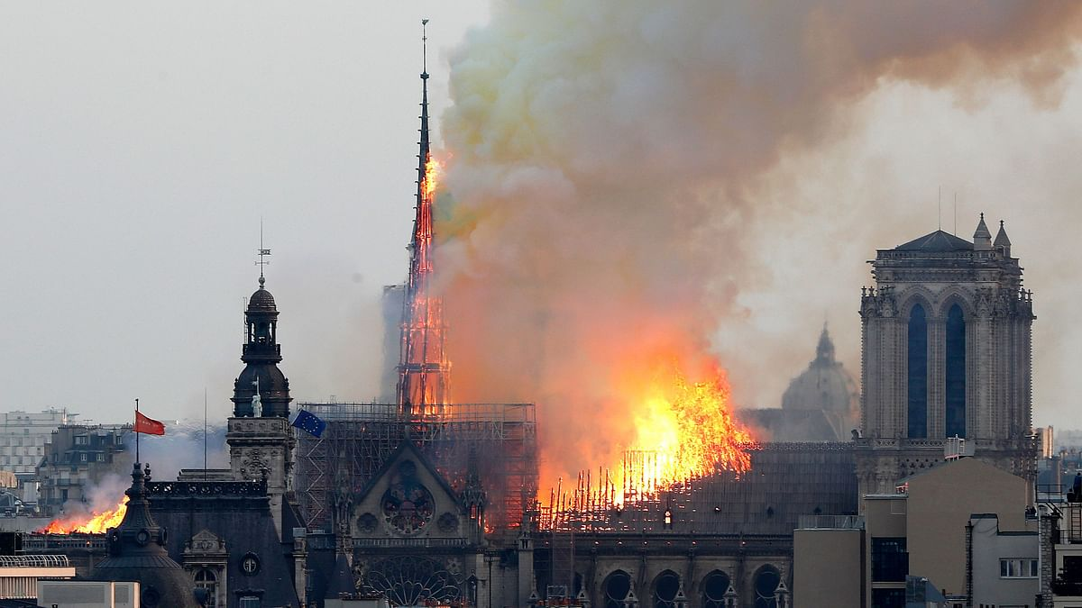 History Burning: Footballers React To Notre Dame Fire