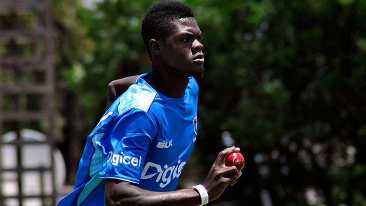 Seamer Alzarri Joseph played for Mumbai Indians in the previous edition of the Indian Premier league.