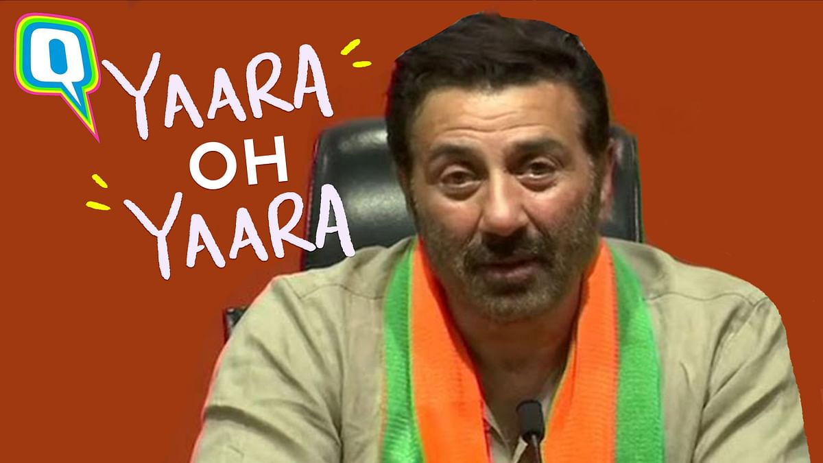 Sunny Deol Dialogues That Double Up As Electoral Speeches