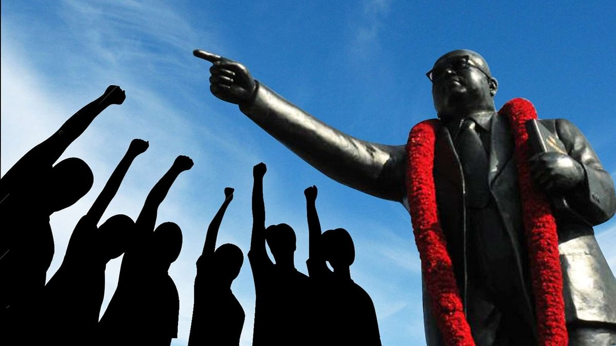 A file photo of Ambedkar's statue. Image used for representation.