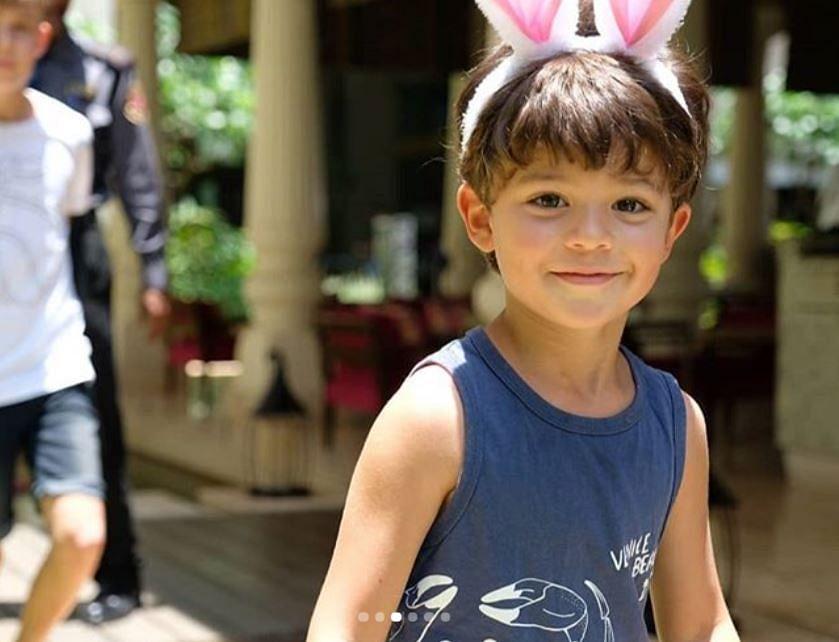 Chennai Super Kings' Kids Celebrate Easter Sunday, See Photos