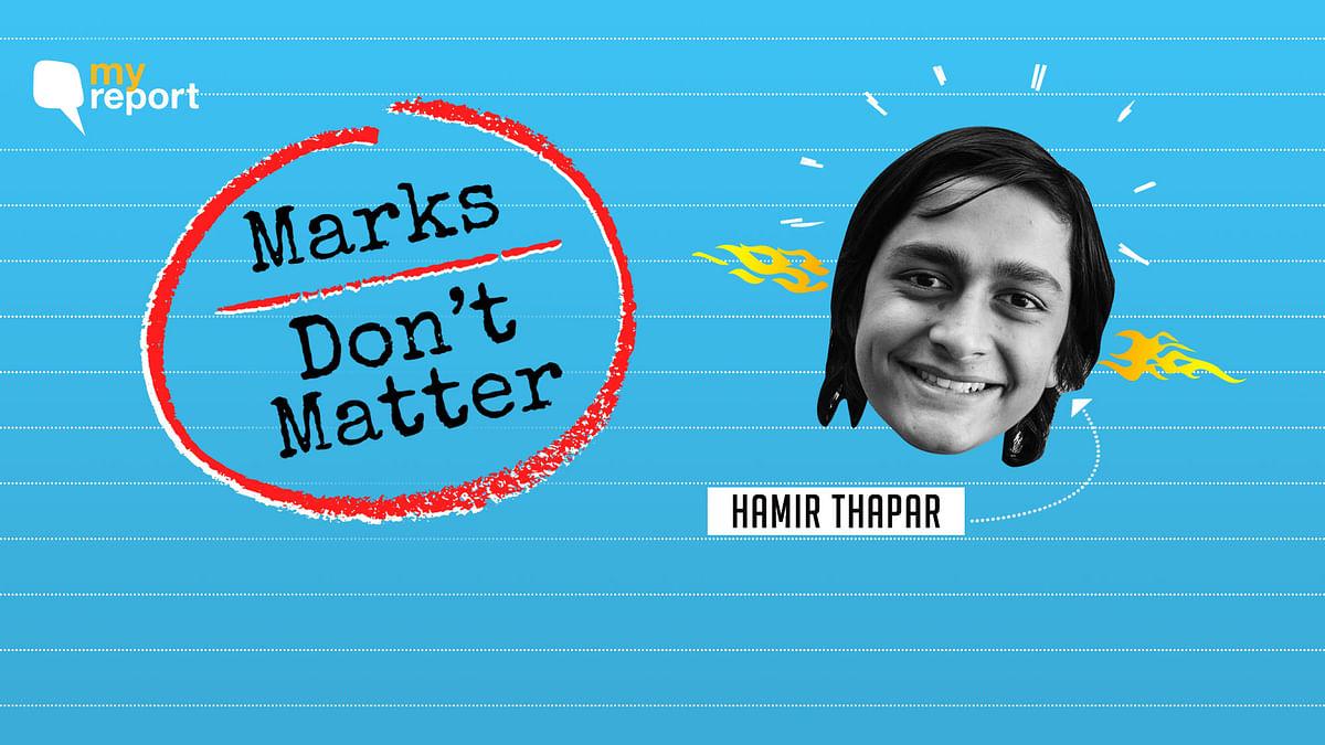 Marks really don't matter.