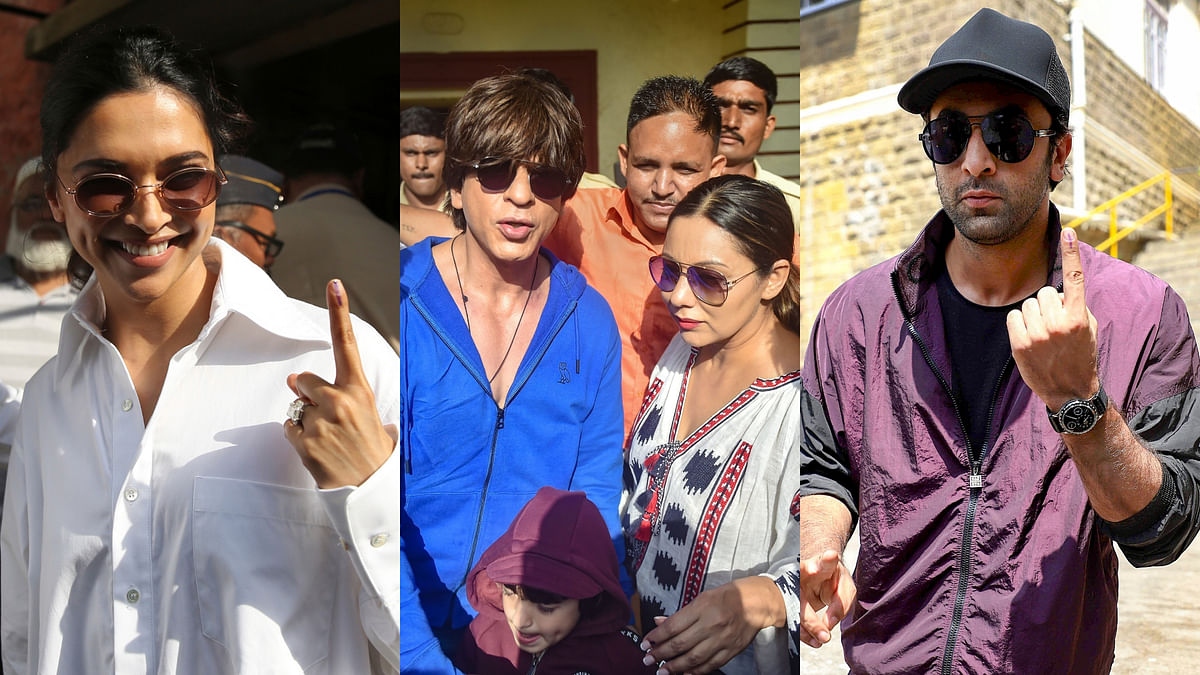 Lok Sabha Elections 2019: Big B, Salman, SRK Cast Vote in Mumbai