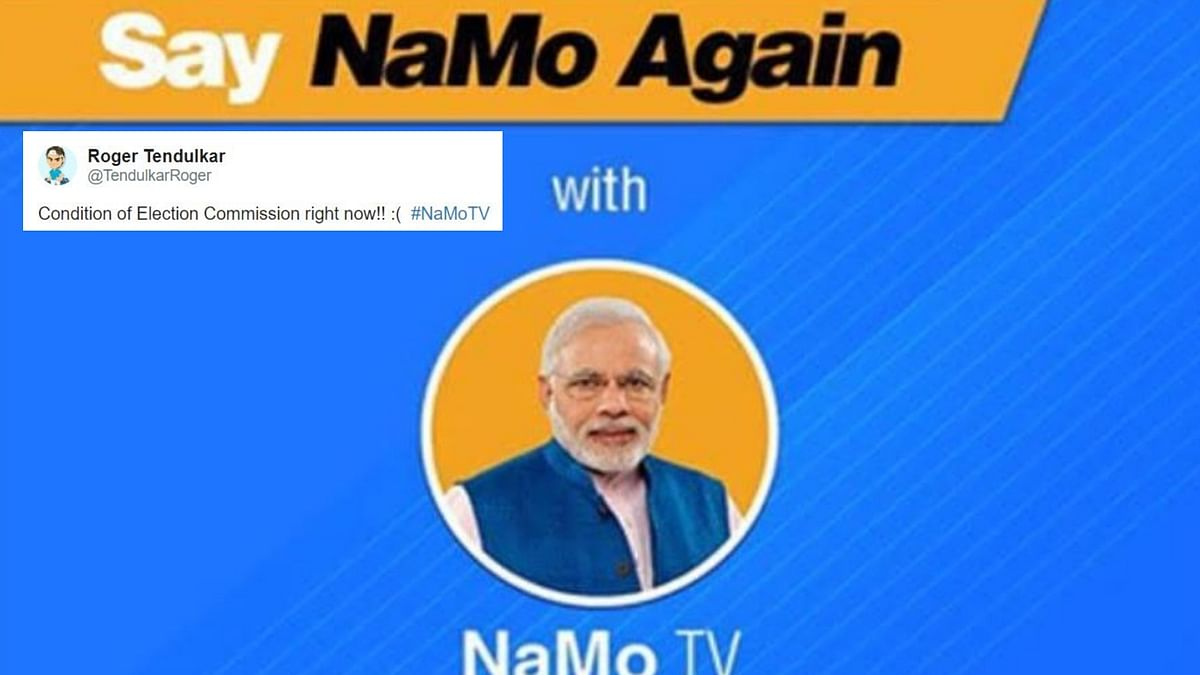 Is Election Commission Sleeping?: Twitterati React to NaMo TV