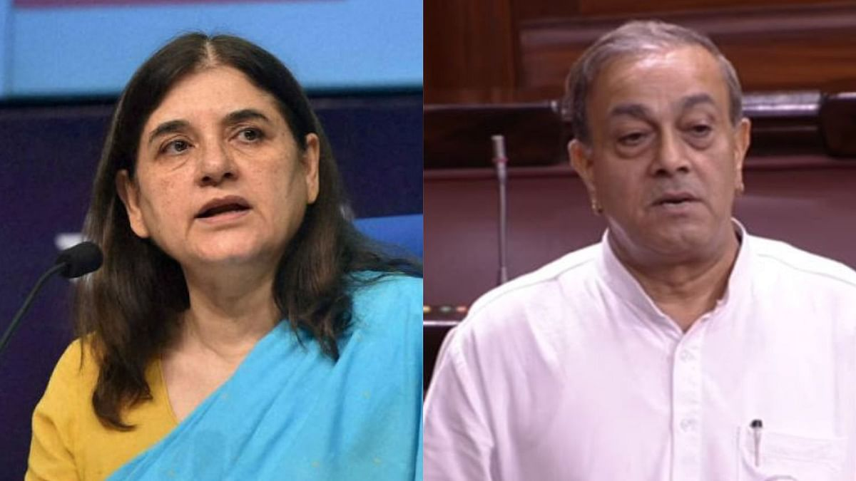 Maneka Gandhi is facing Congress' Sanjay Singh for the coveted Sultanpur seat.