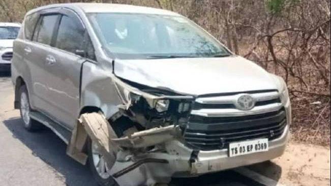 Telangana MLA's Car Rams Into Bike Killing 3-Year-Old Girl