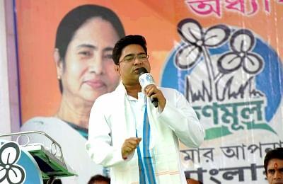 TMC leader Abhishek Banerjee. (Photo: Indrajit Roy/IANS)