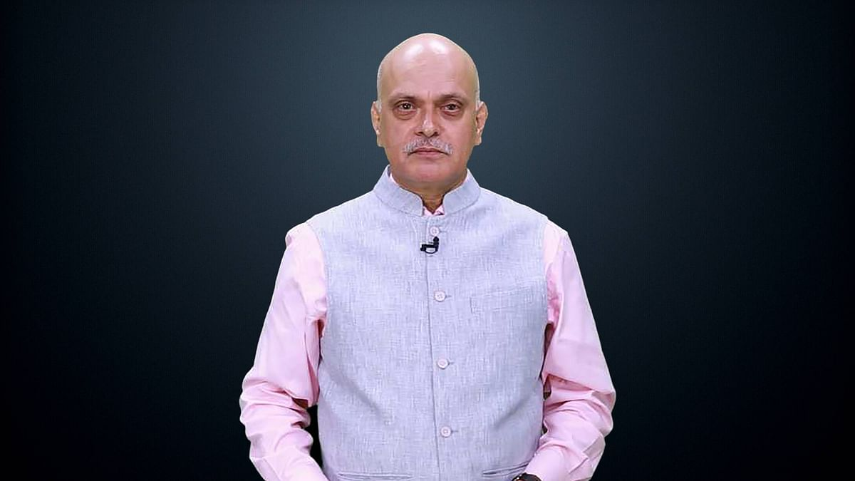 Raghav Bahl, co-founder and Editor-in-Chief of <b>The Quint.</b>
