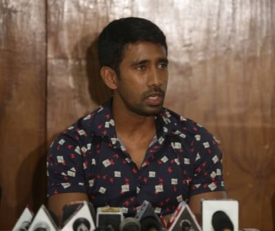 Wriddhiman Saha. (Photo: IANS)