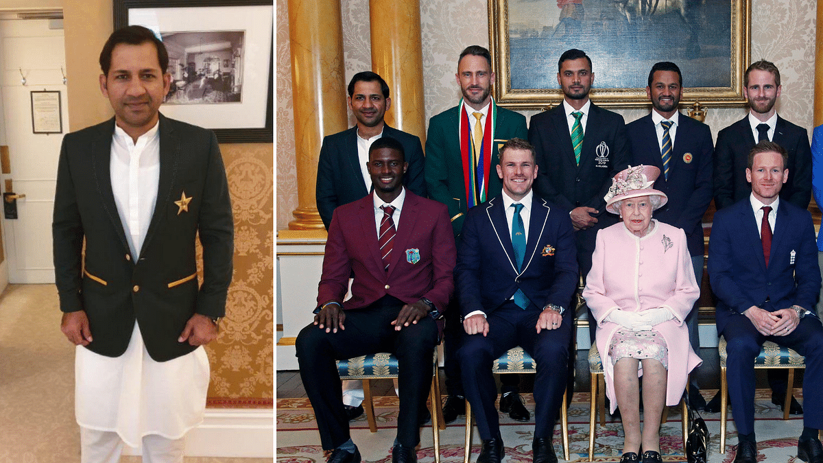 Sarfaraz Ahmed Wore Salwar to Meet the Queen, Twitter Had Opinions