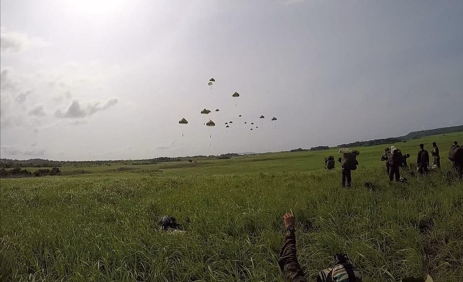 Indian Armed Forces Carry Out Joint Exercise to Boost Coordination