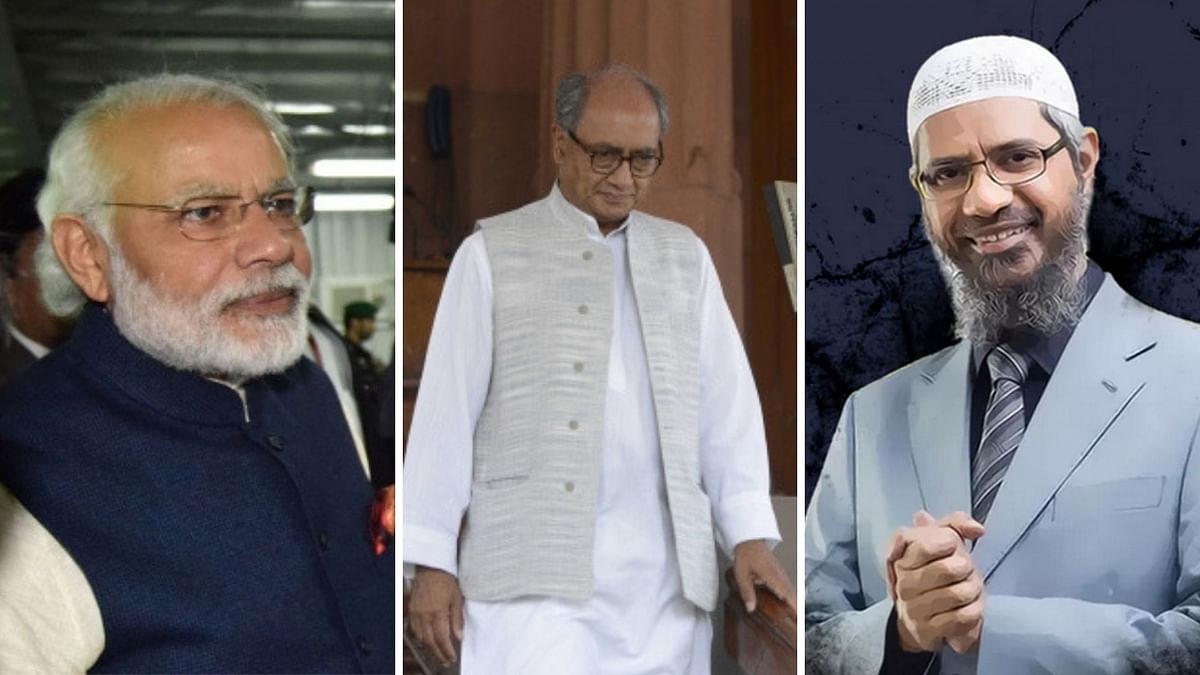 'He Can Rope in Zakir Naik': PM Modi's Jibe at Digvijaya Singh