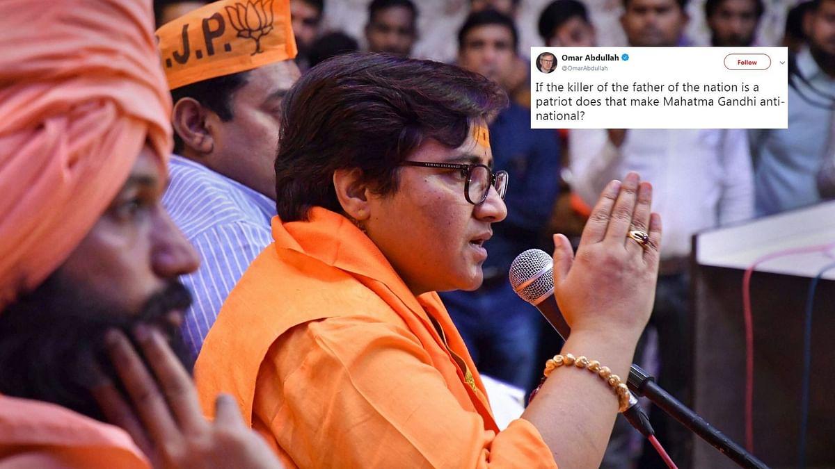 'Mockery of Democracy': Twitterati Condemn Pragya's Godse Remark