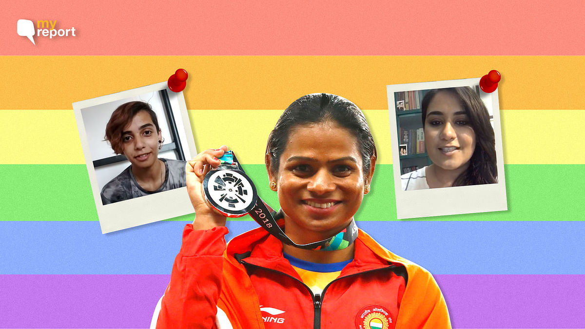 Dear Dutee Chand, Stay True to Yourself. We're so Proud of You