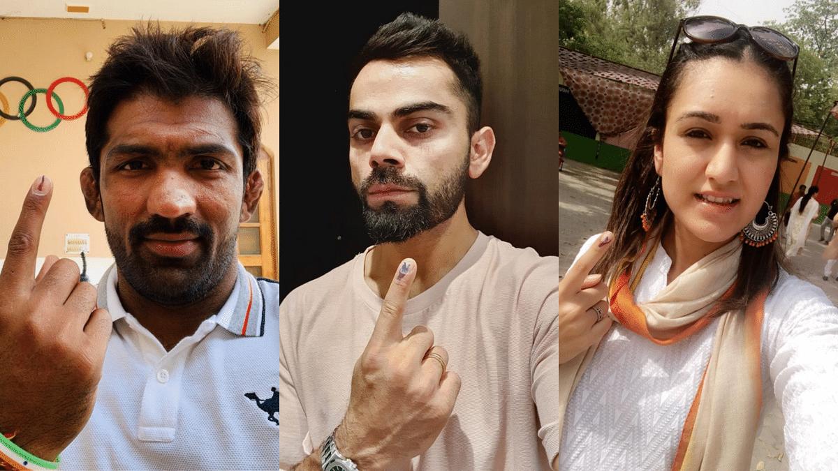 Virat Kohli, Manika, Yogeshwar: Sports Stars Cast Their Votes