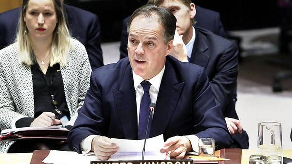 UK Foreign Office minister Mark Field.