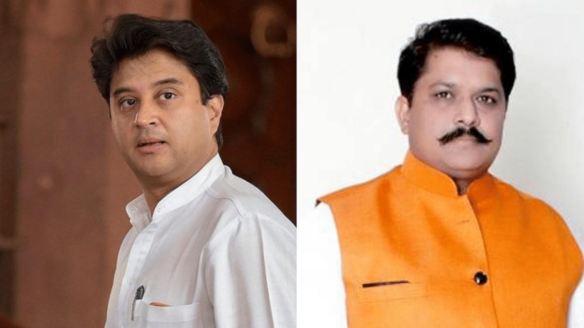 Congress' Jyotiraditya Scindia is fighting his traditional seat of Guna against BJP's KP Yadav.